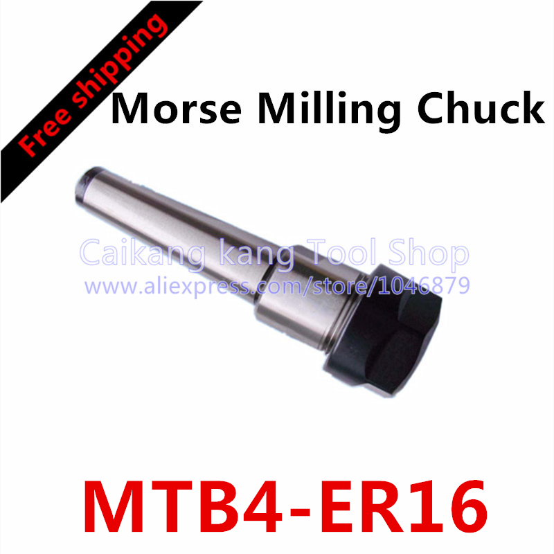 MT4-ER16 Collet chuck handle 4# Morse Cone Milling Chuck handle Taper MT4 Toolholder Clamp CNC part MTB4-ER16 hight quality morse taper shank drill chucks set cnc lathe drill chuck 5 to 20mm b22 with no 3 morse taper mt3 with key
