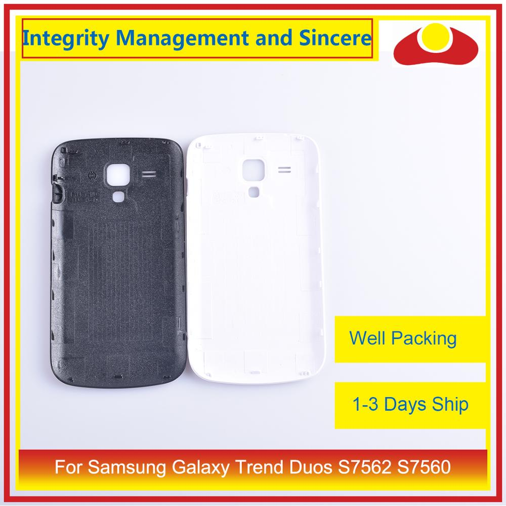 Image 5 - 10Pcs/lot For Samsung Galaxy Trend Duos S7562 7562 S7560 7560 Housing Battery Door Rear Back Cover Case Chassis Shell-in Mobile Phone Housings & Frames from Cellphones & Telecommunications