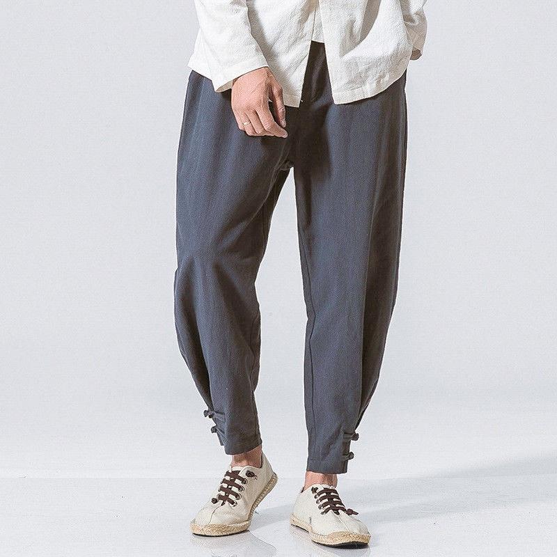 a30013598ff0 Pk Bazaar harem pants men incerun new linen pants mens in pakistan ...