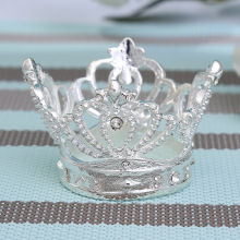 50PCS alloy napkin ring crown hollow high-end cocktail party jewelry home table supplies