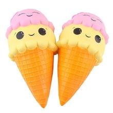 17 cm squeeze exquisita diversión helado perfumado blando encanto lento aumento simulación AntiStress divertido Gadgets Juguetes interesantes