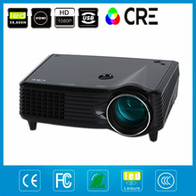 Cine cine en casa proyector LED multimedia pico pequeño mini led proyector de vídeo portátil con USB SD AV VGA