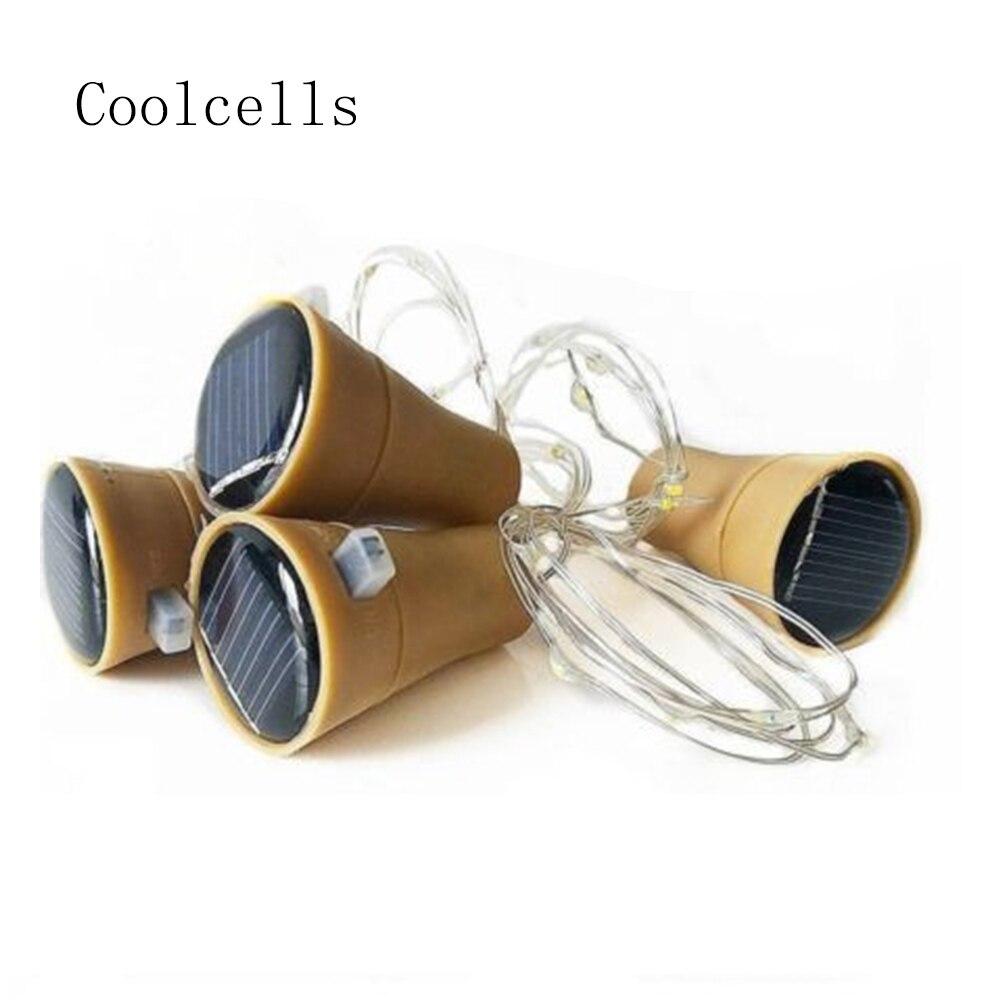 Online-Shop Cork Geformte Wein Flaschenverschluss Licht LED Kupfer ...