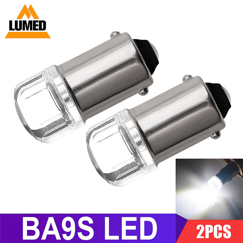 2x BA9S T4W LED Car light bulb T2W T3W H5W 2 interior Car LED License Plate luz LED SMD 2835 DC12V 12913 12910 12929