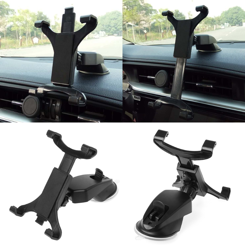 360 Car Dashboard Mount Holder Stand For 7-11inch Ipad Air Galaxy Tab Tablet PC