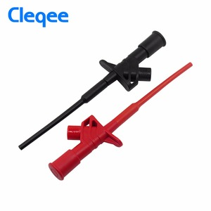 Image 4 - Cleqee DP10013 Oscilloscope Probe Accessories Parts 1300V 100MHz High Voltage Differential Probe kit 3.5ns Rise Time