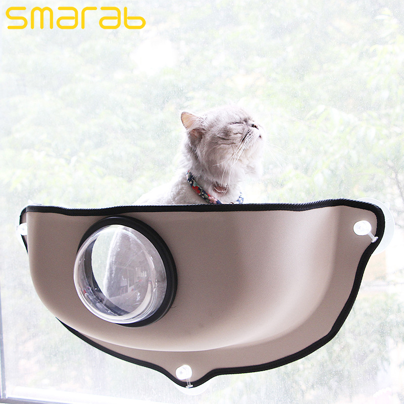 Cat Wall Bed Suction Cup Cat Hammock Window Frame Pet Supplies Eva