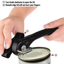 yooap Can opener stainless steel multi-function canned knife safety bottle opener kitchen tool fast недорого