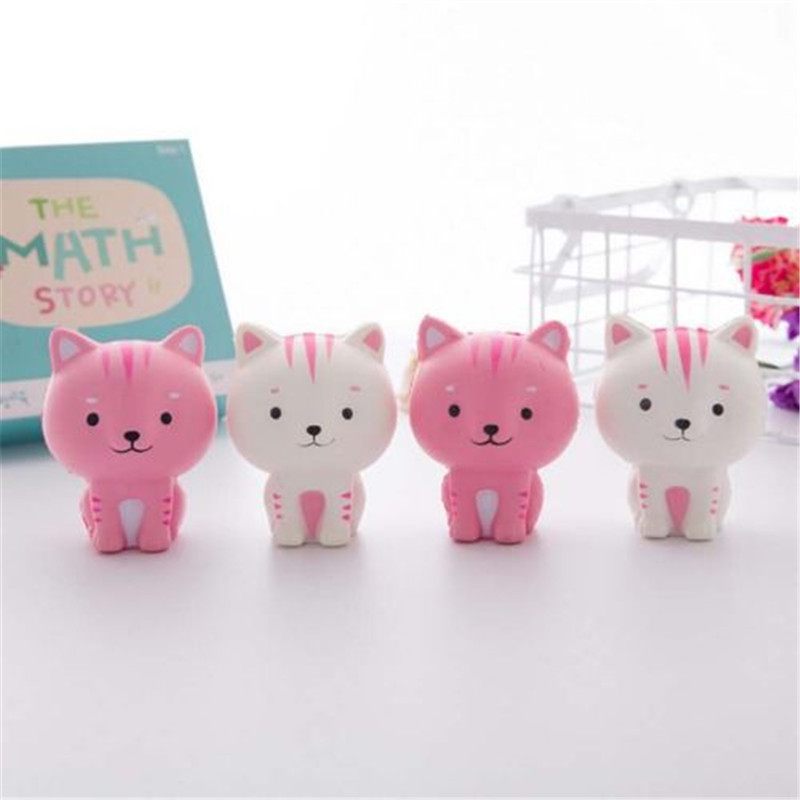 Hot sell Little Milk Cat Squishy Squeeze Cute Slow Healing Kawaii Collection Fun Toy