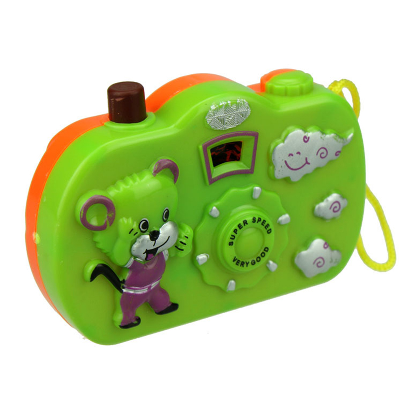 Kids Baby Toys Gift Projection Camera Educational Toys Animals World Random Color 8cm 6
