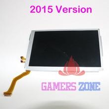 4 adet yedek parçaları Nintendo yeni 3DS XL LL üst üst LCD ekran ekran monitör 2015