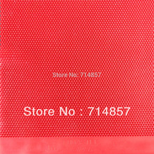 TTMASTER Insider red long pips-out table tennis pingpong rubber without sponge top sheet NO ITTF