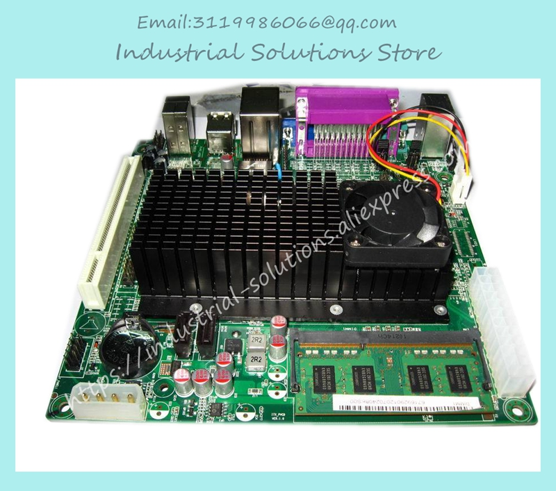 Atom D525 Itx D525 2com Industrial Motherboard Bt Pos Training E3001 E2011 100% tested perfect quality m945m2 945gm 479 motherboard 4com serial board cm1 2 g mini itx industrial motherboard 100