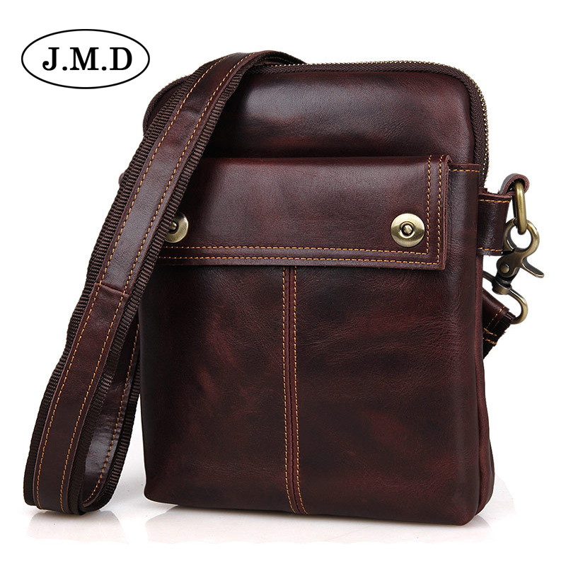 Genuine Leather Men Bags Male Small Messenger Bag Man Fashion Crossbody Shoulder Bag Men's Travel New Bags 1002 diiwii bag new men casual small genuine leather shoulder bags leather messenger crossbody travel bag handbag
