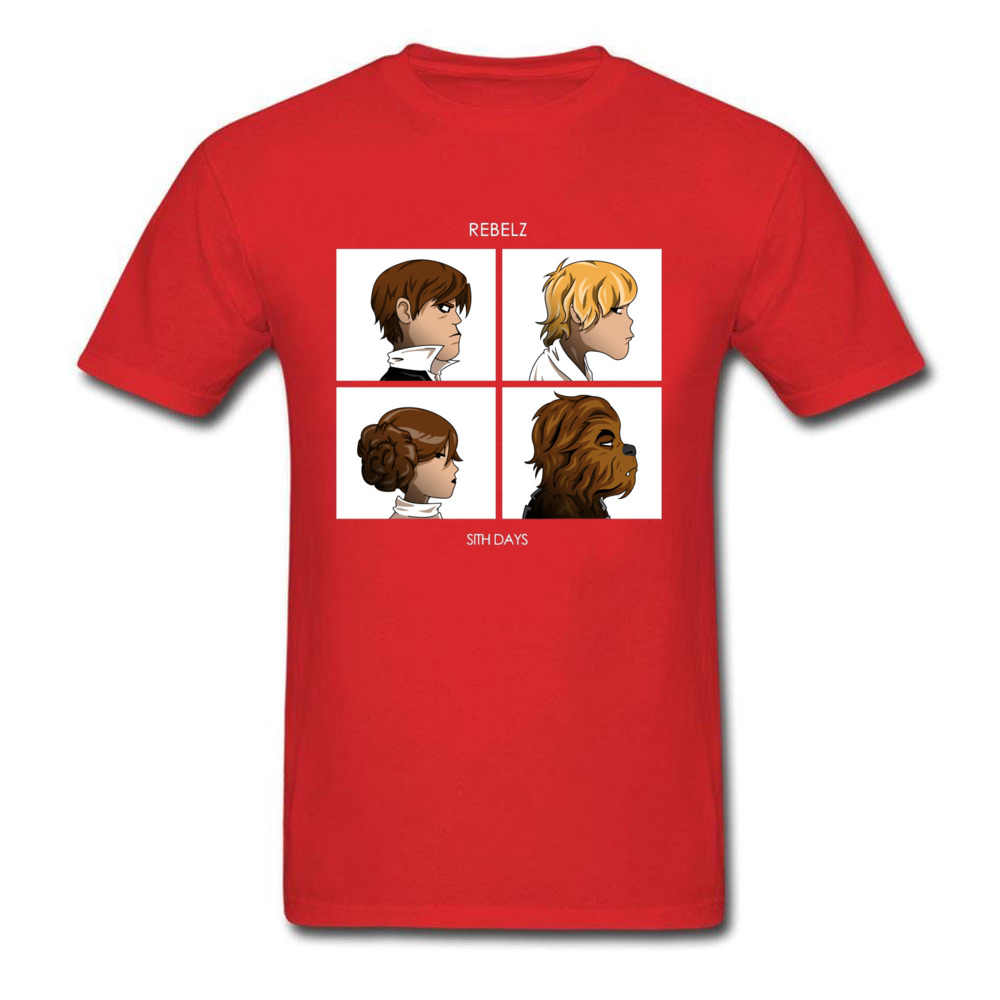 Sith Tage T-shirt T-shirt Für Mann Lustige Mens T Shirts Prinzessin Leia Luck Chewbacca Comics Designer Tops & Tees Red