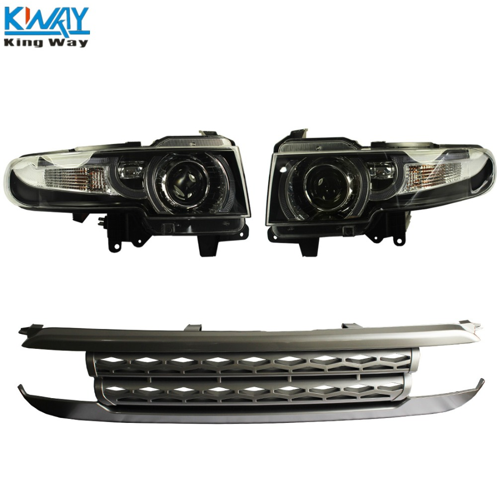 King Way Front Led Halo Projctor Headlight With Grille For 2007 14 Toyota Fj Cruiser Fuel Filter Location In Car Light Assembly From Automobiles Motorcycles On