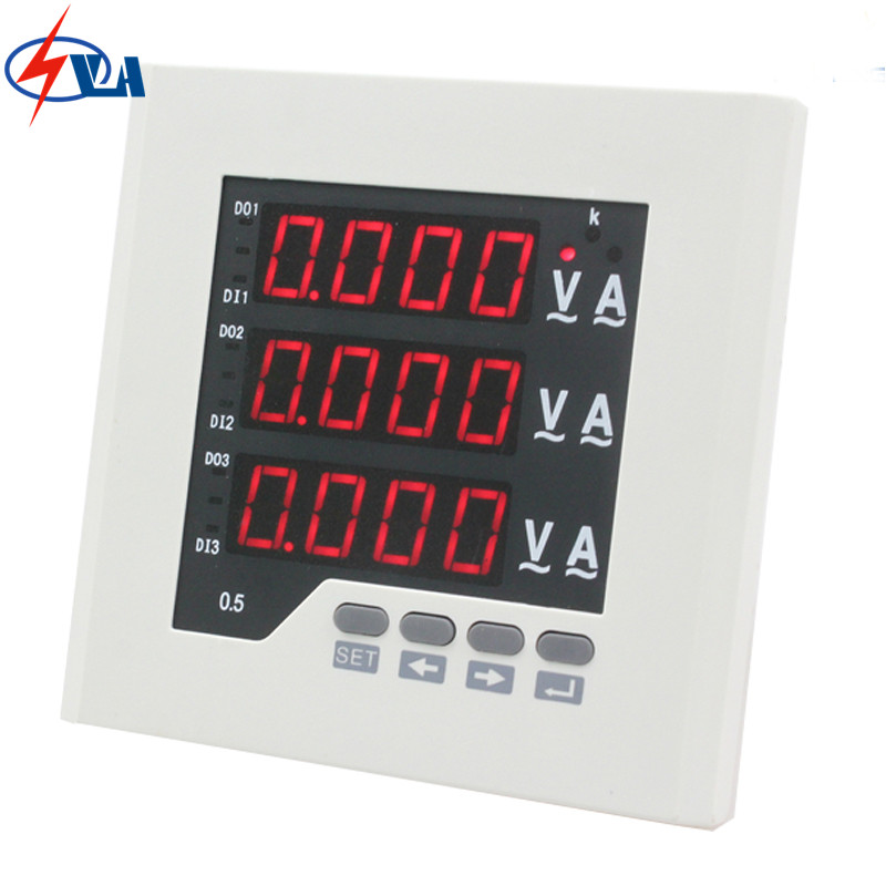 3UIF23 frame size 120*120MM 3 phase ac led digital combined meter, for distribution box 3uif23 frame size 120 120mm 3 phase ac led digital combined meter for distribution box