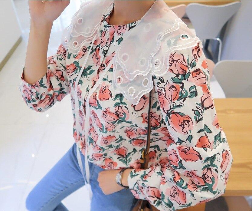 MIARA L sweater double pearl buckle lace necklace vest blouse false collar collar shawl false collar for women
