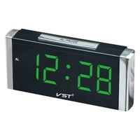 2017 24 Hours Hotel Lobby alarm clock . 1.8 inch big number table clock with AC power eu plug Large display desktop timer.