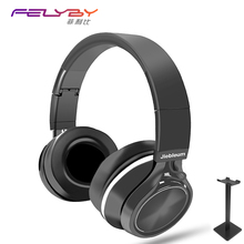 hot deal buy felyby high quality wireless bluetooth earphones headphones gaming headset for phone computer with stereo microphone and stand
