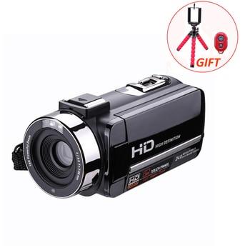 HD Digital Camera Video Recorder Camcorders 16X CMOS 3.0 inch Rotation Screen Reflex IR night vision with Remote Control