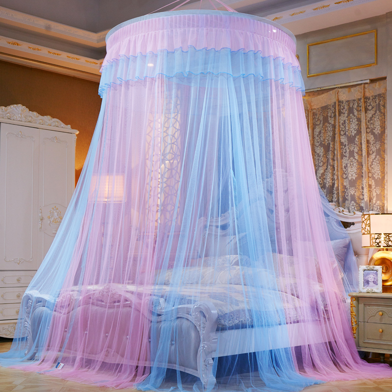 1 1 2 1 5 1 8 2m Mosquito Net Home Textile Dome Hanging Round Bed