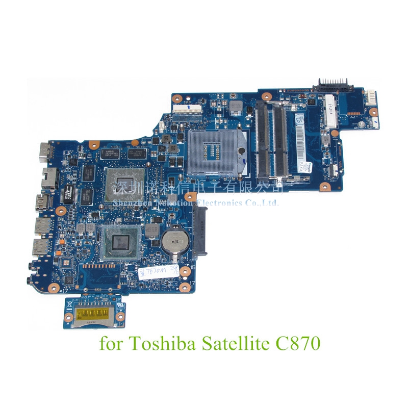 H000038250 For Toshiba Satellite C870 L870 17.3 screen laptop motherboard ATI 7670M+HD4000 DDR3 warranty 60 days