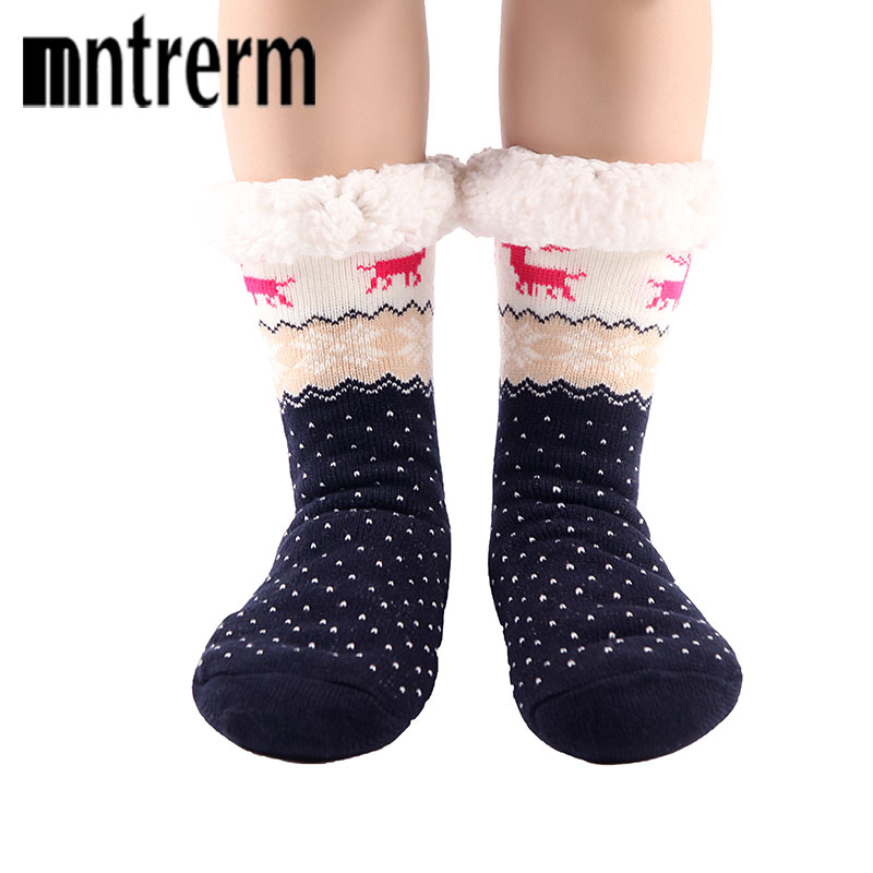 Christmas knitted socks
