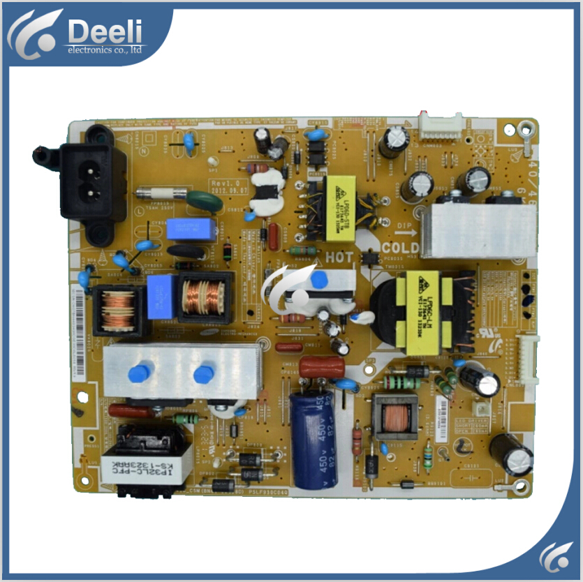 good Working original used for power supply board PD46AV1_CSM BN44-00498D PSLF930C04Q 95% new 95% new used board good working original for power supply board la40b530p7r la40b550k1f bn44 00264a h40f1 9ss board