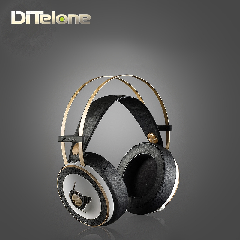 LIEDCHEN MARK II Headphones HIFI Monitor Headband With MIC Ultra Bass Stereo 3.5mm AUX For PC Game Video Iphone xiaomi mark bass cmd121h