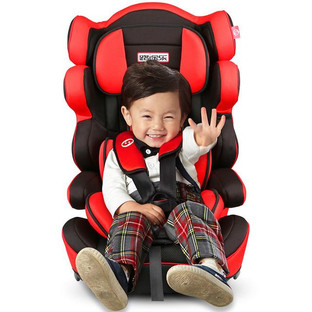 Durable cómodo asientos de seguridad para niños de 9 meses-12 años de edad del niño