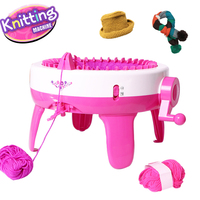 New High Quality Children Weaving Loom Hats Scarves Sweater Weaver Machine Knitting DIY Tools