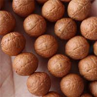 BRO927 тонкой ручной выбор Непал Природный Феникс глаз Бодхи 108 семена Медитация Мала 11 11,5 мм Бесплатная доставка только 1