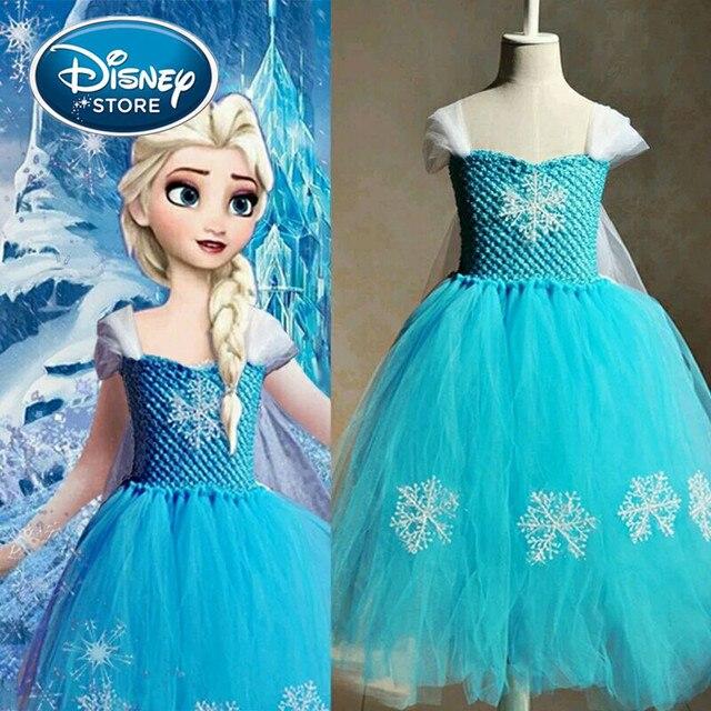 Disney Gefrorene kleid elsa anna Mädchen Snow White Prinzessin ...