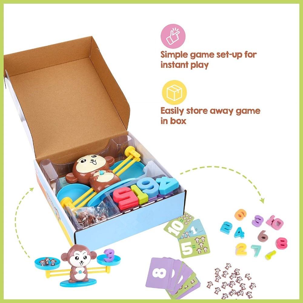 escala montessori matematica contagem equilibrio medicao brinquedo divertido 05