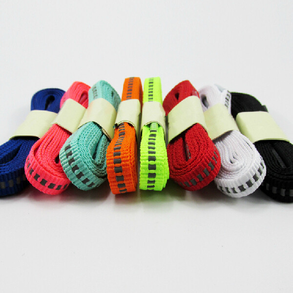 New Arrival 150cm Shoelaces Sports Sneaker Lacet Reflective Flat Shoe Laces 3 Pairs On Sale semi circle multicolour shoelace two tones cavans shoe laces elastic men s shoes lacet 110cm length 10 pairs on sale
