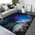 6 мм 3D ковер с морским принтом  Короткие Плюшевые Мультяшные коврики  коврик для дивана  гостиная  ковры для детской комнаты  ковер для спальн...