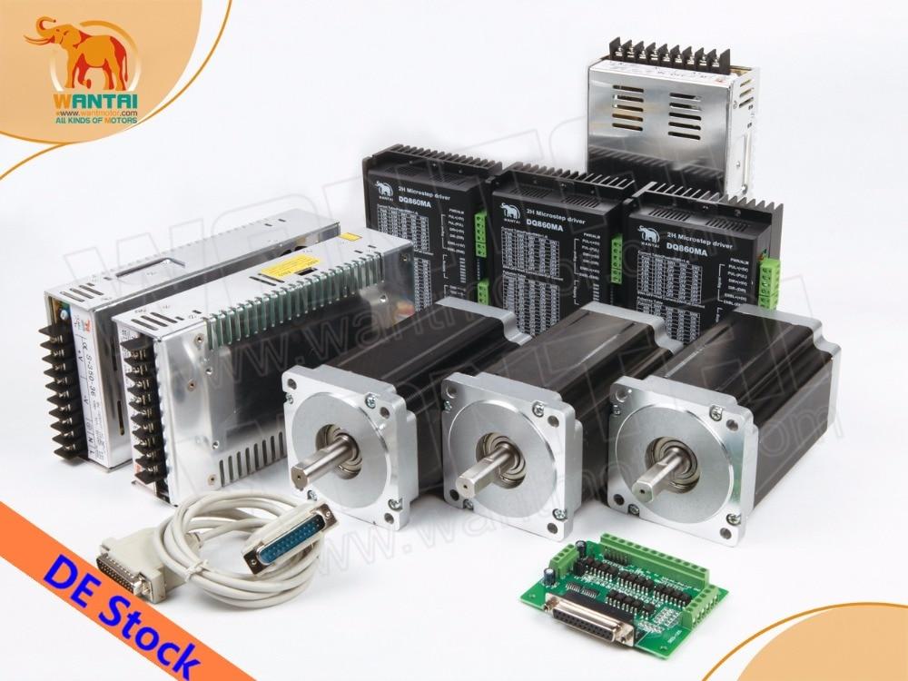 Buy eu usa no tariff 3 axis wantmotor for Nema 34 stepper motor driver