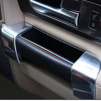 4PCS ABS Car Interior Door Stowing Holder Storage Box For Land Rover Discovery 4 Accessories 2010