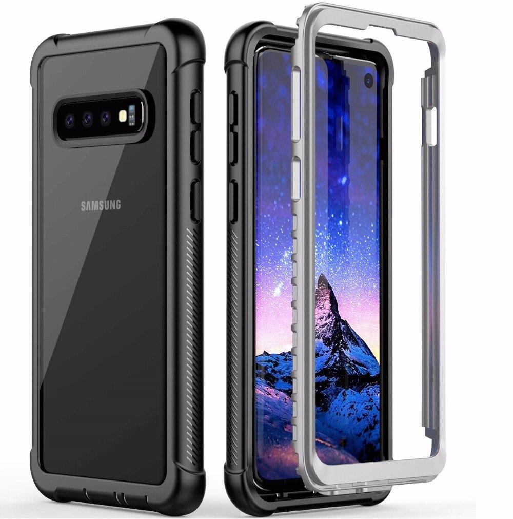 For Samsung Galaxy S10 Case Full Body Heavy Duty Drop Shock