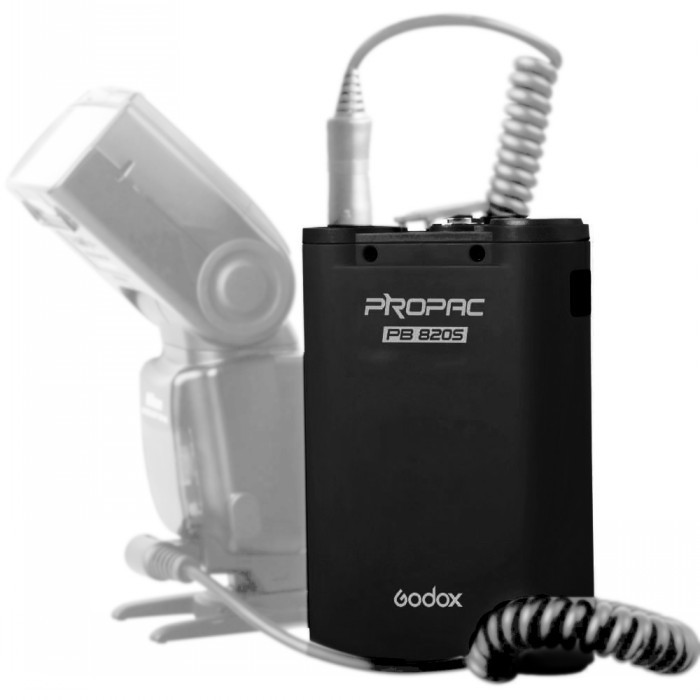 Godox PB820S 2000mah External Camera Flash Power Source Battery Pack for Canon Nikon speedlight meike mk d750 battery grip pack for nikon d750 dslr camera replacement mb d16 as en el15 battery