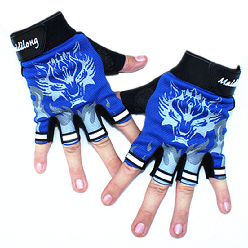 Nuevos guantes de deporte para niños Guantes con estampado de lobo - Accesorios para la ropa - foto 2