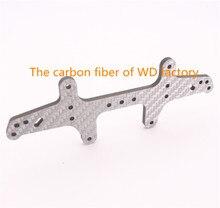 RFDTYGR RC Mini 4wd 3mm Carbon Fiber Wide Rear Plate Custom Parts For Tamiya MINI 4WD