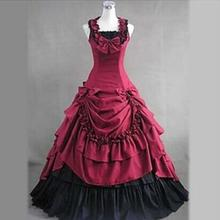Halloween costumes adult southern belle costume red victorian costumes Ball  Gown Gothic lolita dress plus size b7bc24482724