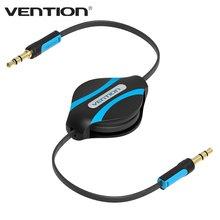 Vention 3.5mm Jack Stereo Aux Audio Flexible Extension Cable Retractable Flat Aux Music Line Headphone Aux Cord For Car CD MP3