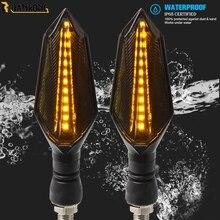 Motorcycle Turn Signal Light Flashing 12 LED lights For aprilia FALCO SL1000 BMW C600SPORT C650SPORT DUCATI super sport