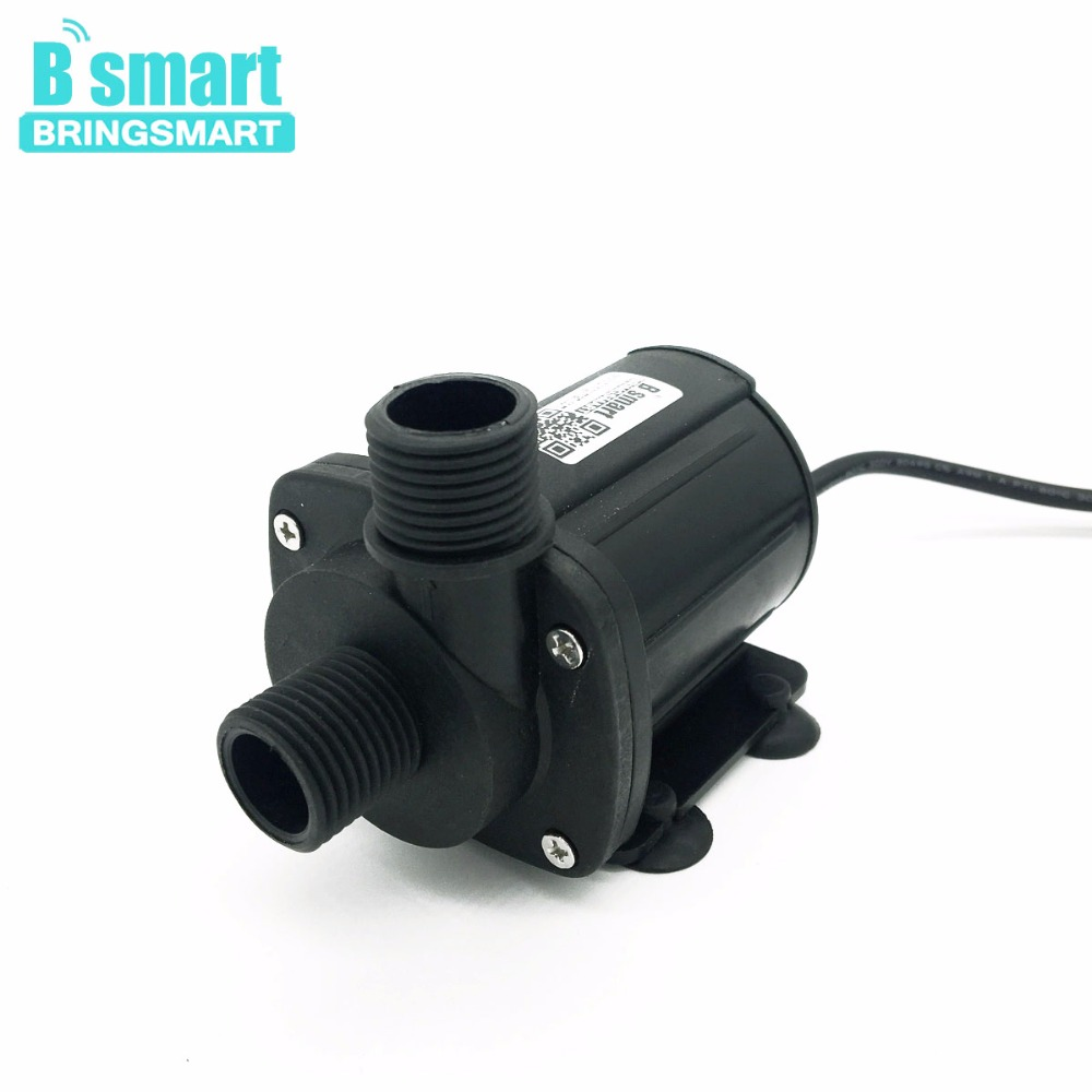 Bringsmart SR-1000B 1100-2000L/H 2.1-5M Mini Water Pump 12V 24V DC Micro Submersible Brushless Circulation Electric Booster Pump