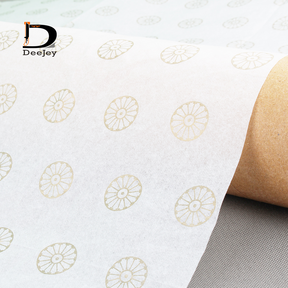 Custom printed 17gsm tissue wrap paper garment shoe hair package wrapping paper 50x76cm high class packing