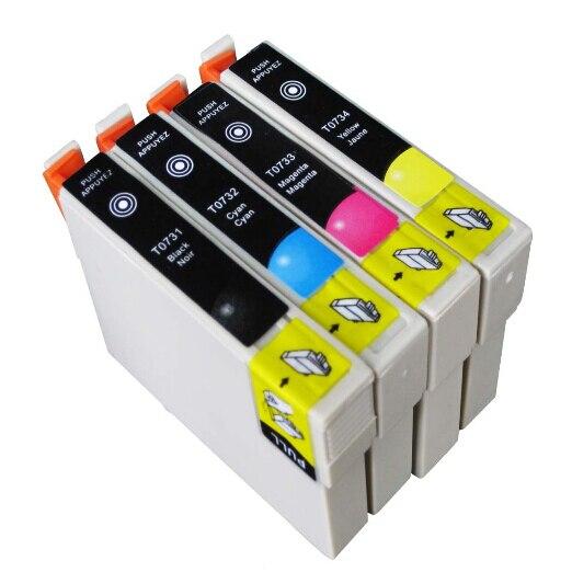 T0731 T0734 T0731N Ink Cartridge Full Ink for Epson Stylus CX8300 CX3900 CX7300 CX4900 CX5900 TX210