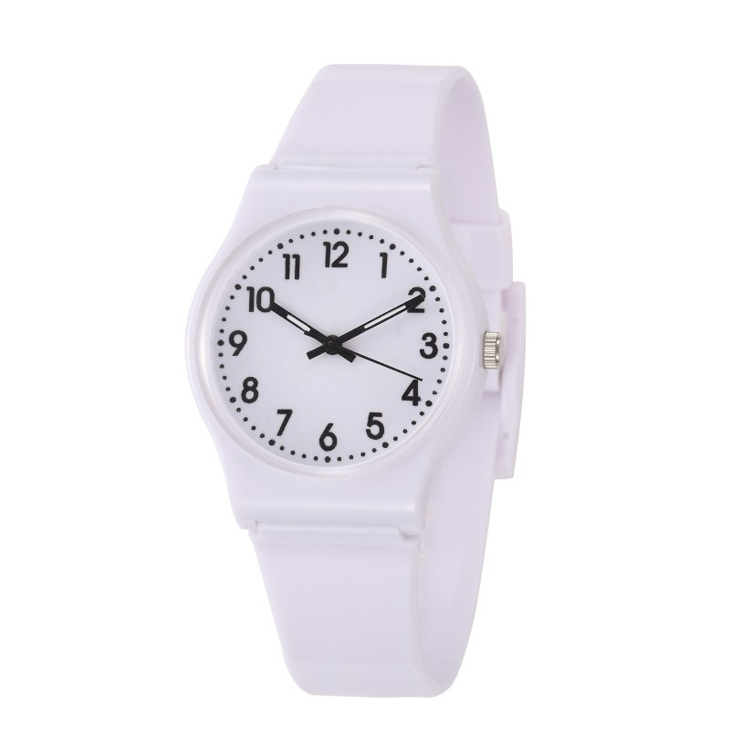 Kids Watch 2019 New Simple Stytle Girls Students Quartz Watches Cute Pink Round Dial Clock Hot Relogio Infantil